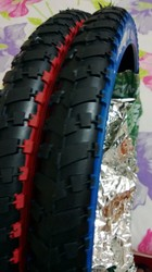 Rubber Bicycle Tyres Two Colour