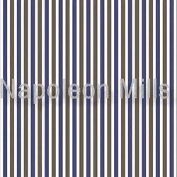 Brown Blue Cotton Shirt Fabric
