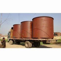 Mild Steel Storage Tanks, Capacity: 5000-10000 L