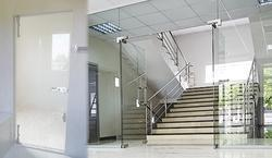 Commercial Glass Door Partition