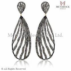 Diamond Filigree Earring