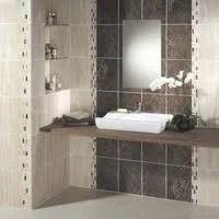 Vitrified Tiles in Bathroom.