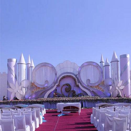 Snow white wedding stages iron world manufacturer in 22 godam snow white wedding stages junglespirit Image collections