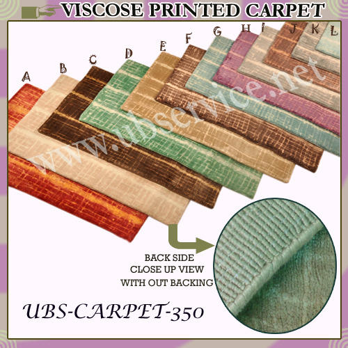Printed Viscose Carpet