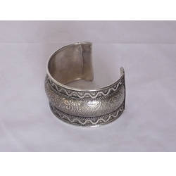 Silver Antique Cuff