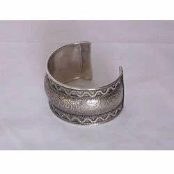 Silver Antique Cuff