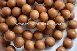 Sandalwood Finished Mala Beads