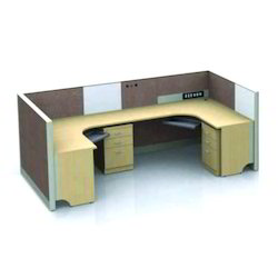 Plywood Modern SVK-186 Computer Workstations, For Office, Seating Capacity: 2