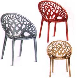 Crystal Polycarbonate Chair