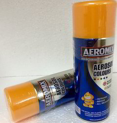 Aerosol Spray Paints Gloden Green Shade Touch Up No Brush