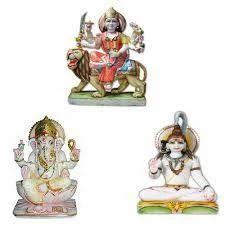 Marble Shiv Parvati Moorti