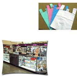 Polythene Carry Bags for Retail Store
