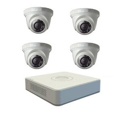 Hikvision CCTV Set 4 Channel DVR