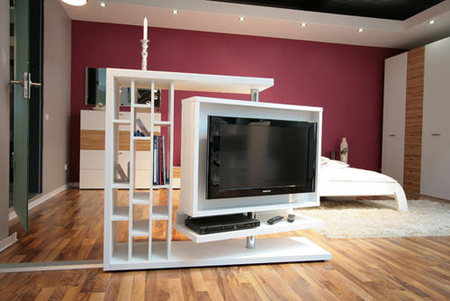 Modern Entertainment Wall Unit View Specifications
