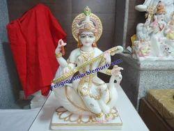 Marble Saraswati Ji Murti