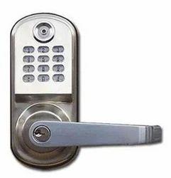 Ibutton Silver Solo Door Locks
