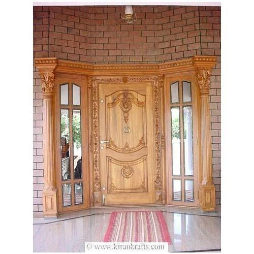 Image gallery main door for Plain main door designs