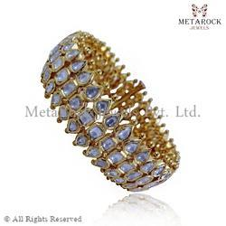 Party Wear Gold Bangle