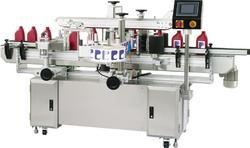 Lubricant Oil Can Double Side Labelling Machine