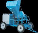 10 7 Cu Ft Concrete Mixer Hydraulic Hooper