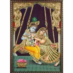 Jwala Krishna Painting