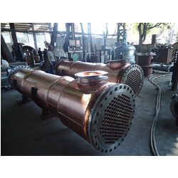 Shell And Tube Type Condenser