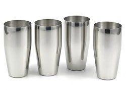 Silver Steel Water Glass