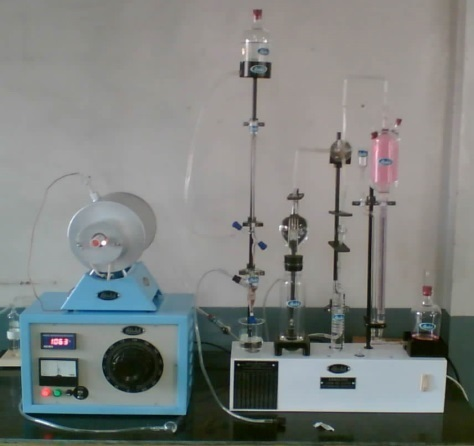 Carbon And Sulphur Apparatus
