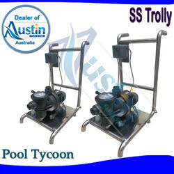 swimming pool suction trolley