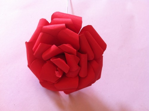 Handmade paper rose flowers at rs 50 pieces kagaz ke phool handmade paper rose flowers mightylinksfo