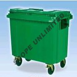 Wheeled Trolley - Plastic Dustbin Manufacturer from Noida