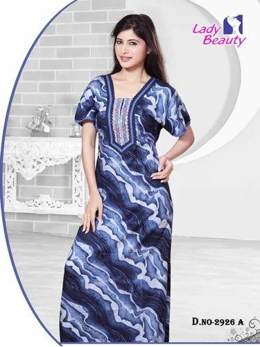 75f67c1d6f Ladies Nighties - Print Nighty Manufacturer from Mumbai