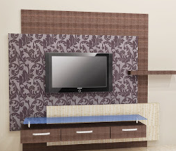 tv wall unit at rs 9999 /piece(s) | television wall unit - bharat