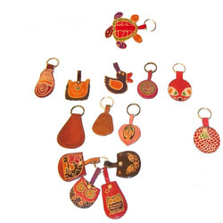 Leather Key Rings, Packaging Type: Single Poly Pack