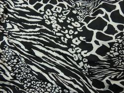 Polyester Spandex Printed Fabric, Packaging Type: Bag, GSM: 150-200