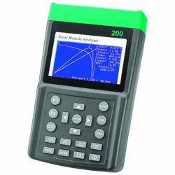 Solar Module Analyzer, prova 200