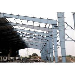PEB Shade Structural Fabrication