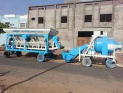 Mobile Semi Batching Plant