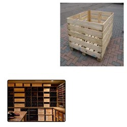 Wooden Crates for Wine Rack