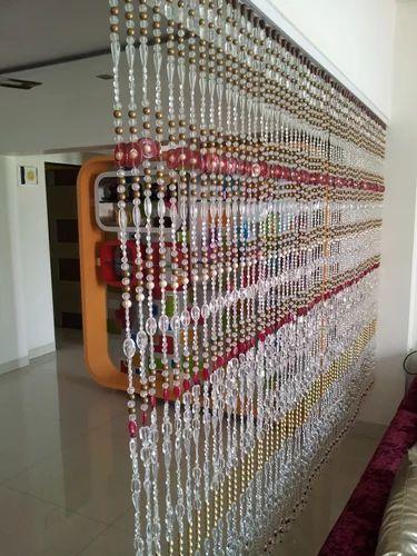 Acrylic Beaded Curtain Colour Vibrations Manufacturer