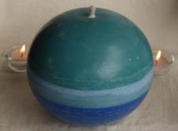Scented Ball Candle-Ocean Breeze