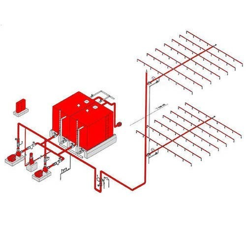 automatic fire sprinkler system pacific fire engineers delhi id rh indiamart com fire sprinkler system diagrams and design schematic diagram of fire sprinkler system