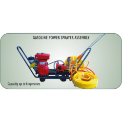 Gasoline Power Sprayer Assembly