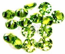 Peridot Round Cut Gemstone