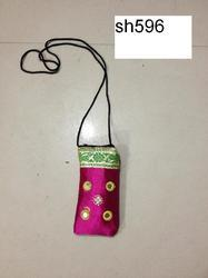 Magenta Satin Traditional Mobile Cotton Cover
