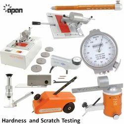 Hardness & Scratch Testing