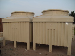 Square Type Counter Flow Cooling Towers