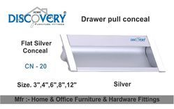 Drawer Pull Silver Conceal