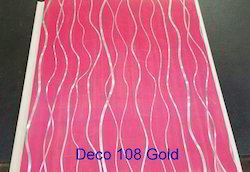 PVC Deco Gold Wall Paneling