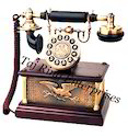 Decor Stylish Antique Telephone